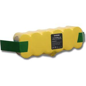 Batterie 2000mAh Ni-MH pour iRobot Roomba 500,510,520,530,531,532,534