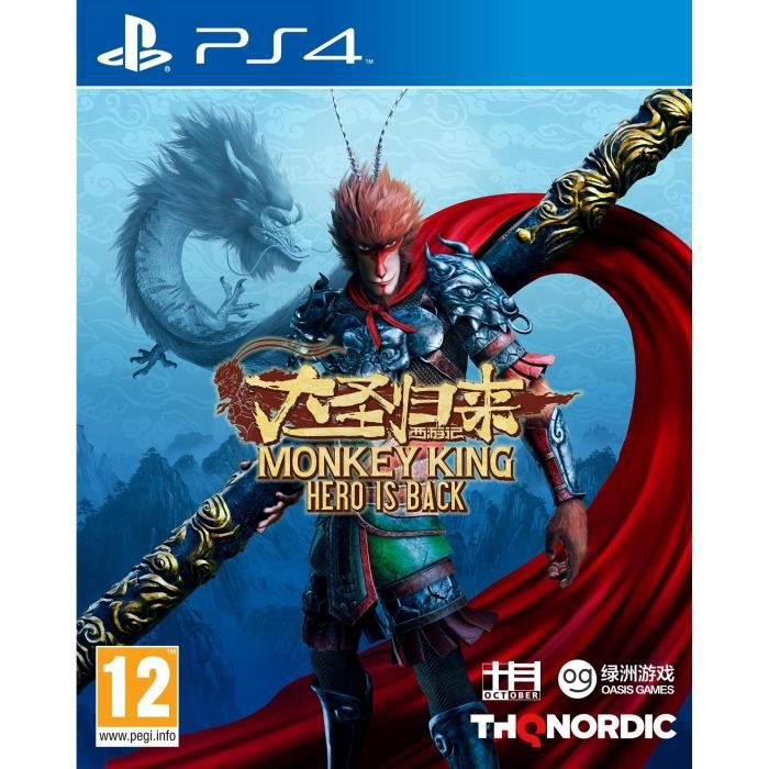 The Monkey King : Hero is Back Jeu PS4