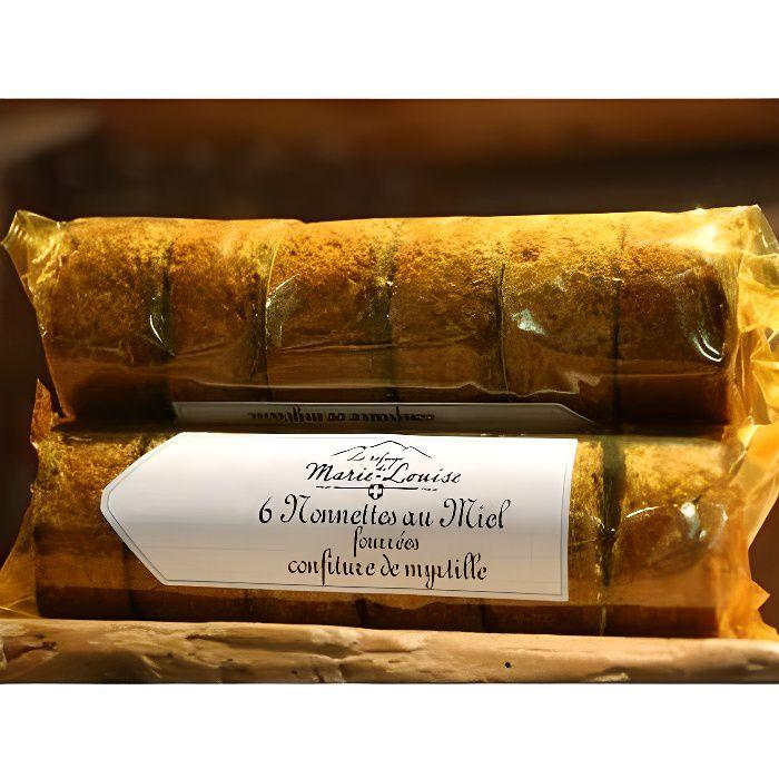 Nonnette au miel fourr&eacutee &agrave la confiture de Myrtille