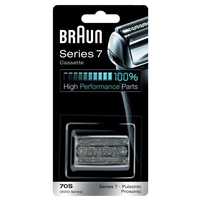 BRAUN Pièce de rechange cassette - 70S Series 7/Pu - Noir