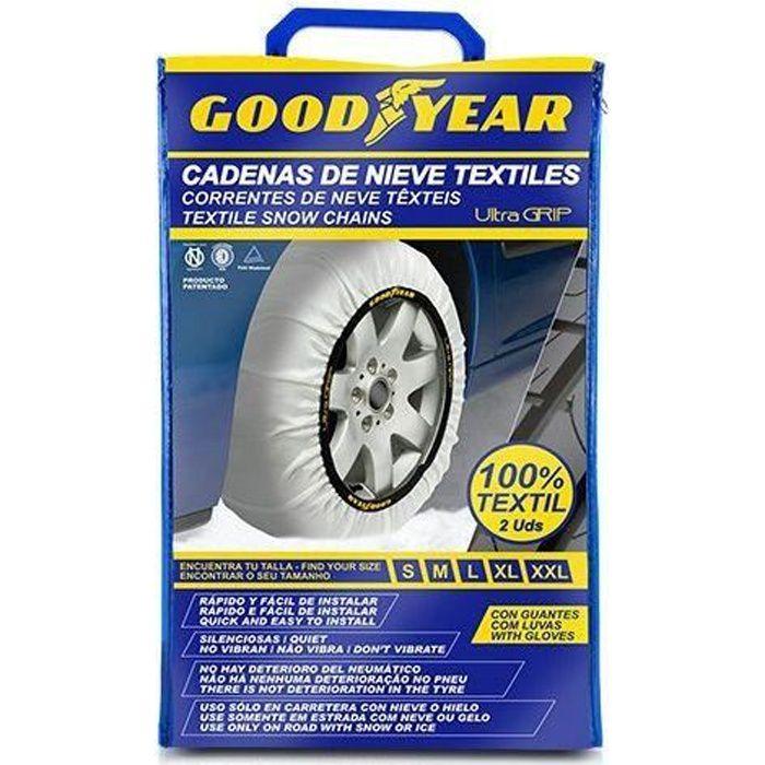 Chaînes à neige pour voitures Goodyear ULTRA GRIP (XL)