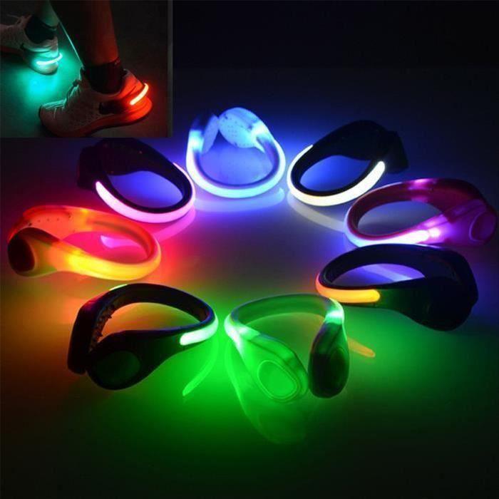 Clip lumineux pour chaussures ou baskets led
