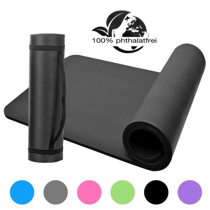 Tapis de yoga NBR Tapis de yoga en mousse à cellules fermées Tapis d'exercice antidérapant-725