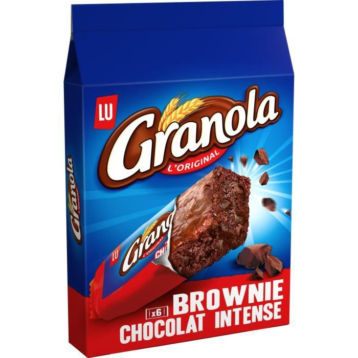 Granola Brownie Chocolat Intense 180G