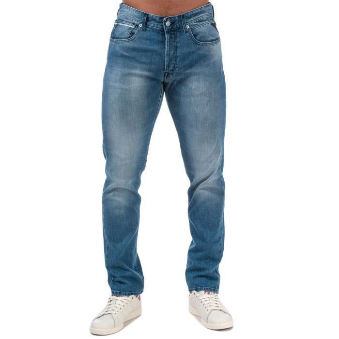Replay Jean Grover Straight Fit Jean Denim Homme