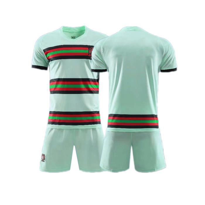 0M maillot de l'équipe nationale du Portugal 7 c roo maillots de football maillots d'entraînement sur mesure costume homme enfant