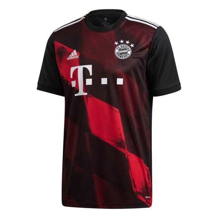 Maillot Bayern Munich - 2020-2021 Maillot de Football Away Jersey - Noir