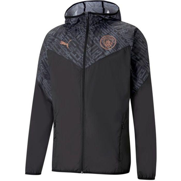 Veste Manchester City Warmup - noir/rose brillant - S