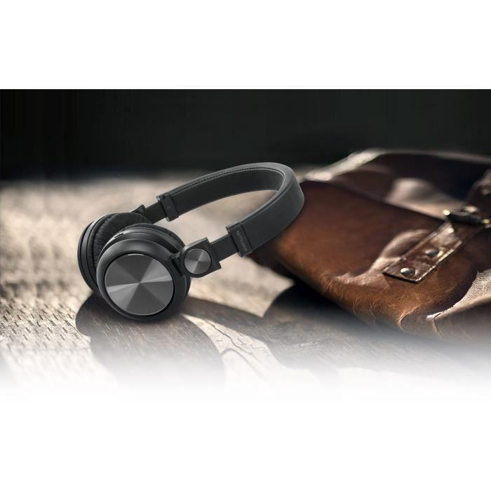 MUSE M-276 BT Casque Bluetooth -  Autonomie 10h - Noir