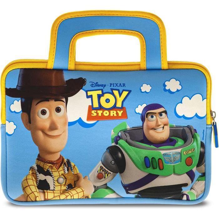 Pebble Gear – Licence officielle Disney - Toy Story 4 - Sacoche de transport universelle pour tablette 7 à 10- (PG914942M)