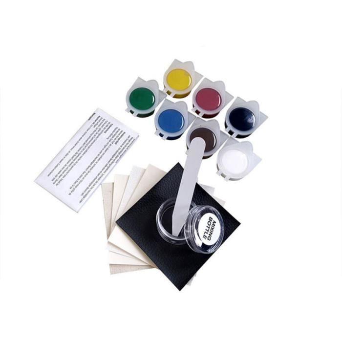 Kit de réparation en cuir vinyle pour siège de voiture Canapé-manteau Trous Réparation de liquide Outil de des fissures