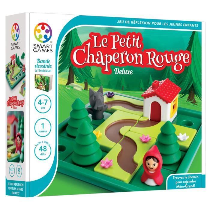 SMART GAMES SmartGames - 021 Fr Sg - Le Petit Chaperon Rouge - jeu de réflexion pour les enfants 3U0LY9