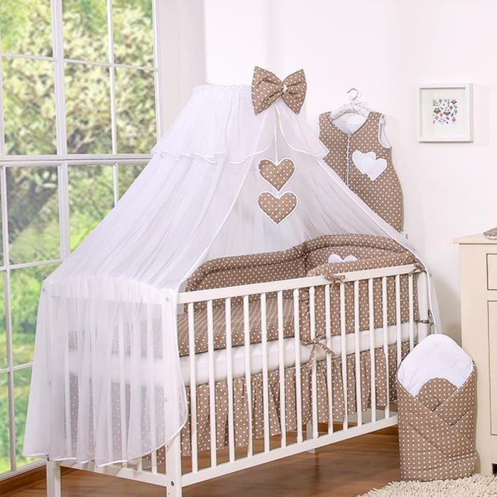 Ciel de lit bébé en moustiquaire - grand format –