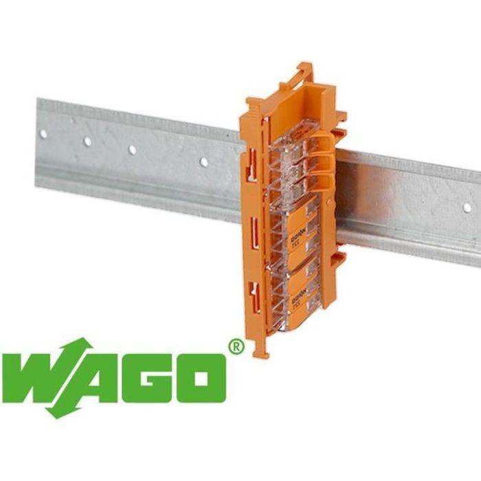 Support de fixation borne Wago gamme 221-4