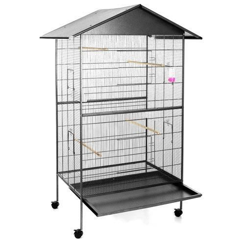 voli re cage oiseaux perruches canaries achat vente voli re cage oiseau voli re cage. Black Bedroom Furniture Sets. Home Design Ideas