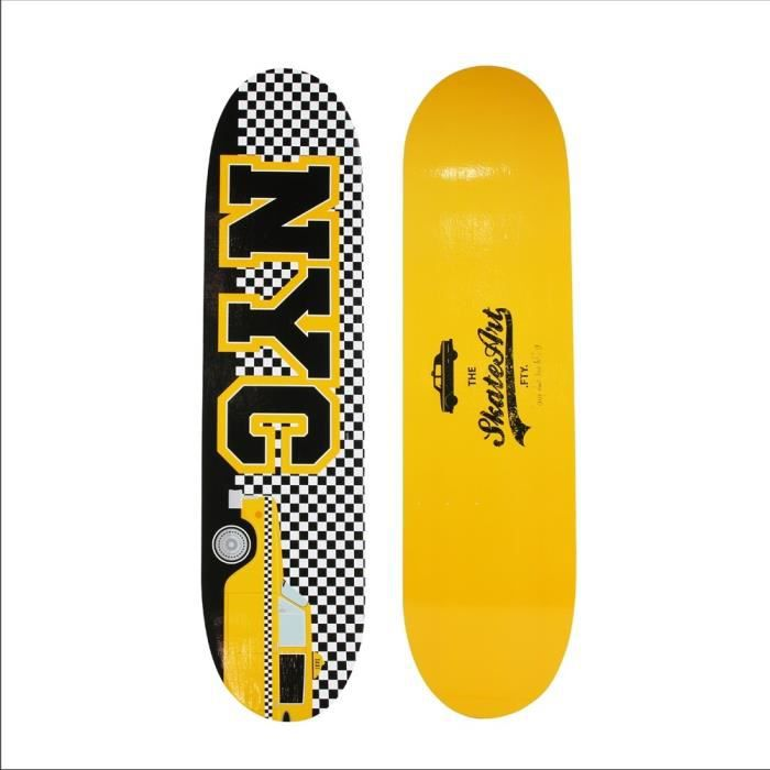 Etag re skateboard murale new york d coration murale for Decoration murale geante new york