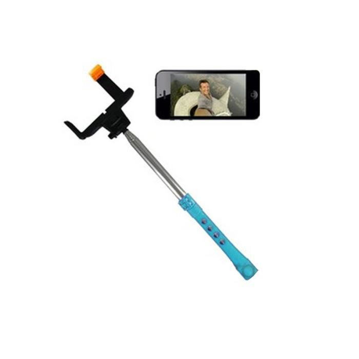 hobbytech selfie stick extensible bluetooth avec batterie 50 mah pour smartphones et iphone. Black Bedroom Furniture Sets. Home Design Ideas