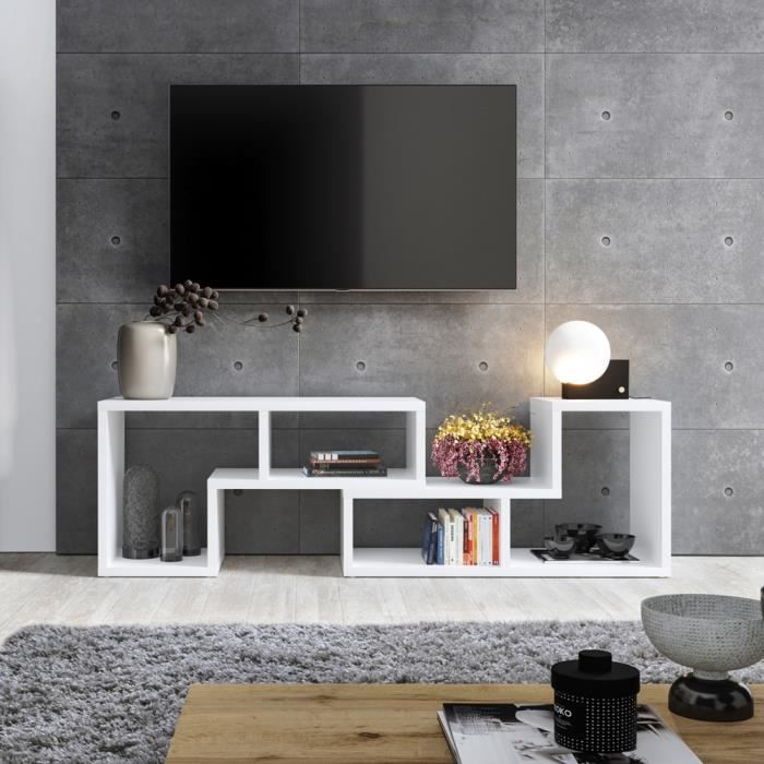 meuble 3 en 1 se transforme en meuble tv table basse. Black Bedroom Furniture Sets. Home Design Ideas