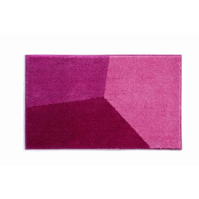 tapis de bain 50x60 acrylique rouge rose violet achat. Black Bedroom Furniture Sets. Home Design Ideas