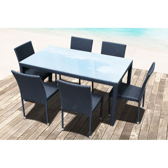 R Sine Tress E Table 6 Chaises Empilables Noi Achat