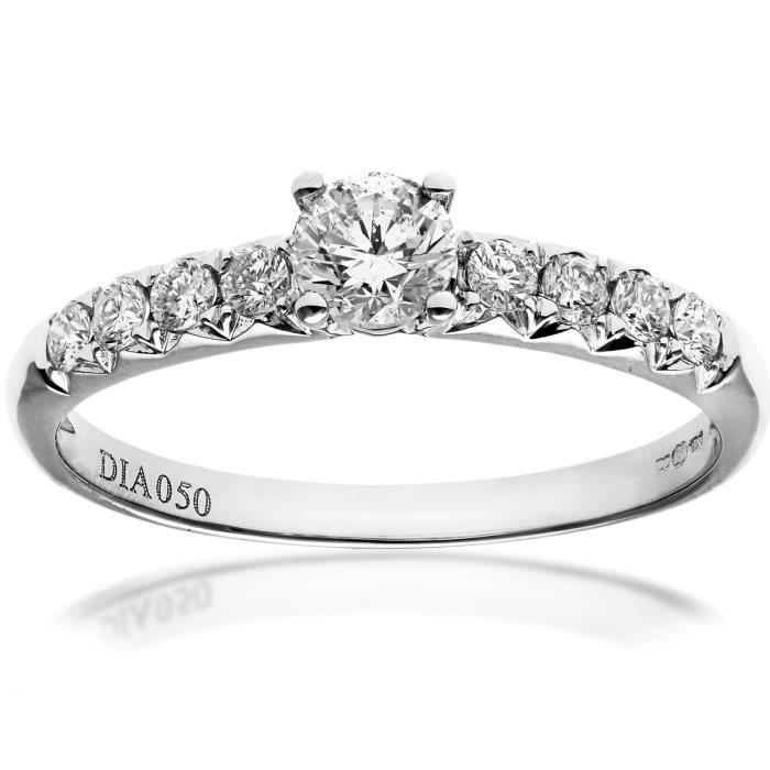 revoni bague solitaire diamant