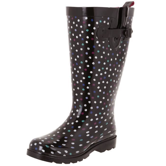 Mesdames Brillant Rainboot Grand PRF0P Taille-40