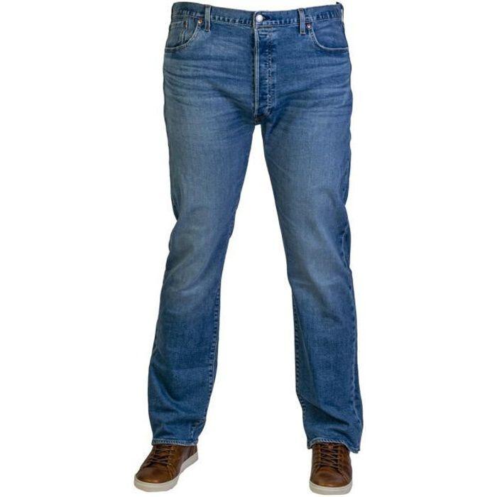Homme Wrangler Texas Stretch Jean Braguette Zippée Jeans Délavé-stretch bleu denim