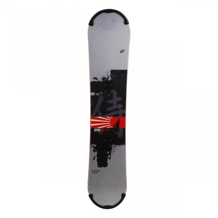 PLANCHE DE SNOWBOARD Snowboard Junior Crazy Creek Rage + fixation