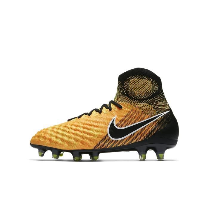 big sale be9ef b527a CHAUSSURES DE FOOTBALL Nike Jr. Magista Obra II FG, Sol ferme, Enfant,