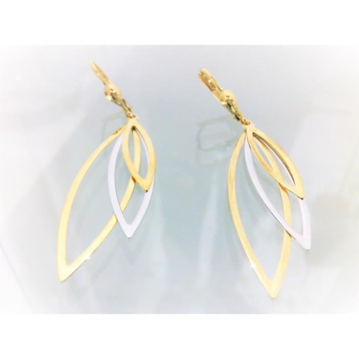 - Chat Boucles dOreille Femme Miore Or 18 Cts