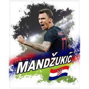 AFFICHE - POSTER Poster Reproduction Football - Mario Mandzukic Cro