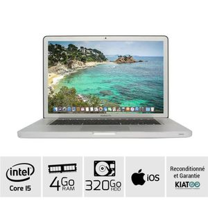 ORDINATEUR PORTABLE Apple MacBook Pro 15