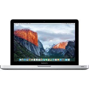 PC Portable Apple MacBook Pro 13 pouces 2,3Ghz Intel Core i5 4Go 500Go HDD - Grade C pas cher