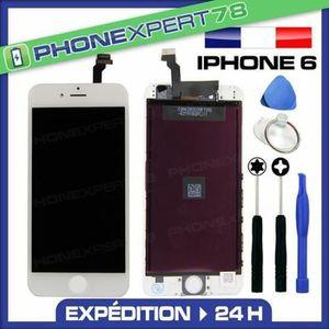ECRAN DE TÉLÉPHONE Écran LCD RÉTINA iPhone 6 Blanc