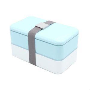 LUNCH BOX - BENTO  Boite a lunch a double couche Recipient de stockag
