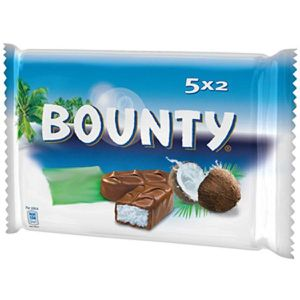 BARRES CHOCOLATÉES MARS WRIGLEY CONFECTIONERY FRANCE Bounty original