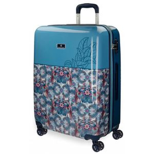 VALISE - BAGAGE Catalina Estrada grande valise rigide 69cm Faisan