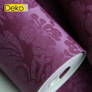 PAPIER PEINT iDeko® Papier peint intissé 10m*0.53m /Rouleau imp