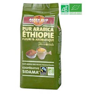 CAFÉ ALTER ECO Café Ethiopie 100% Arabica Bio 260g