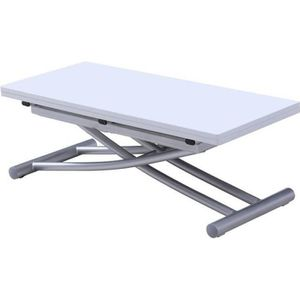 TABLE BASSE Table basse relevable extensible COLIBRI finition