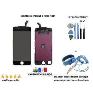ECRAN DE TÉLÉPHONE Écran LCD APPLE IPHONE 6 PLUS NOIR, kit outil comp
