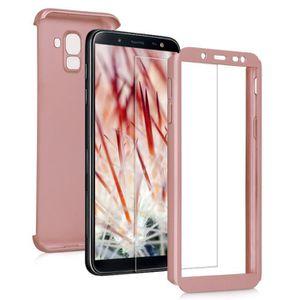 HOUSSE - ÉTUI kwmobile Coque Samsung Galaxy J6 - Étui double ave