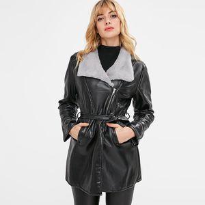 Manteaux femme simili cuir