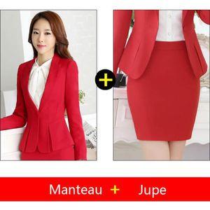 COSTUME - TAILLEUR (Veste + jupe)Costume Femme Coupe slim de Marque S