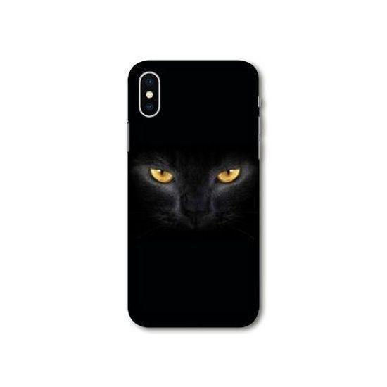 Coque Huawei Y5 (2019) Chat Noir taille unique
