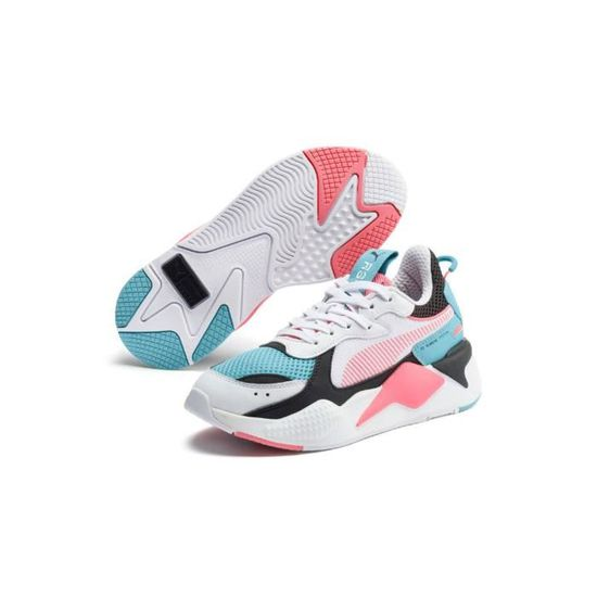 Baskets Femme PUMA RS X 90's blanches 370716 04