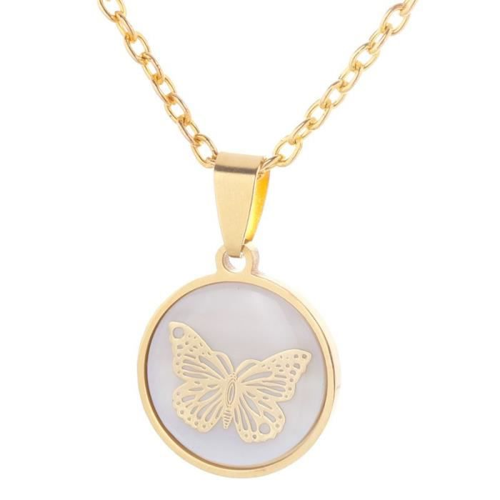 Charm MADE IN ITALY lisse 18K solide or Jaune Clé Coeur Amour Pendentif