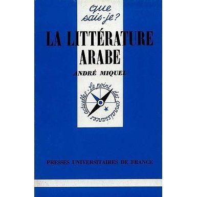 AUTRES LIVRES La litterature arabe