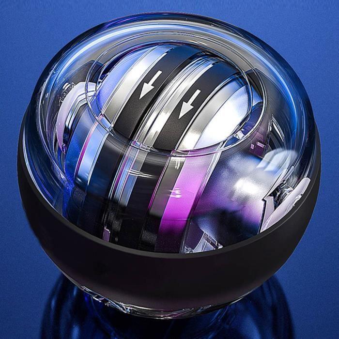 LED Gyroscope Power ball autostart range Gyroscope Power carpal Belt To arm muscle trainer Fitness Equipment