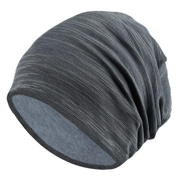 Chapeaux d'hiver femmes,Nouveau automne Turban casquette pour femmes hommes rayure bonnets pour hommes hiver coton ch Model:XOM314